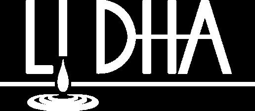 Logo LiDHA bianco